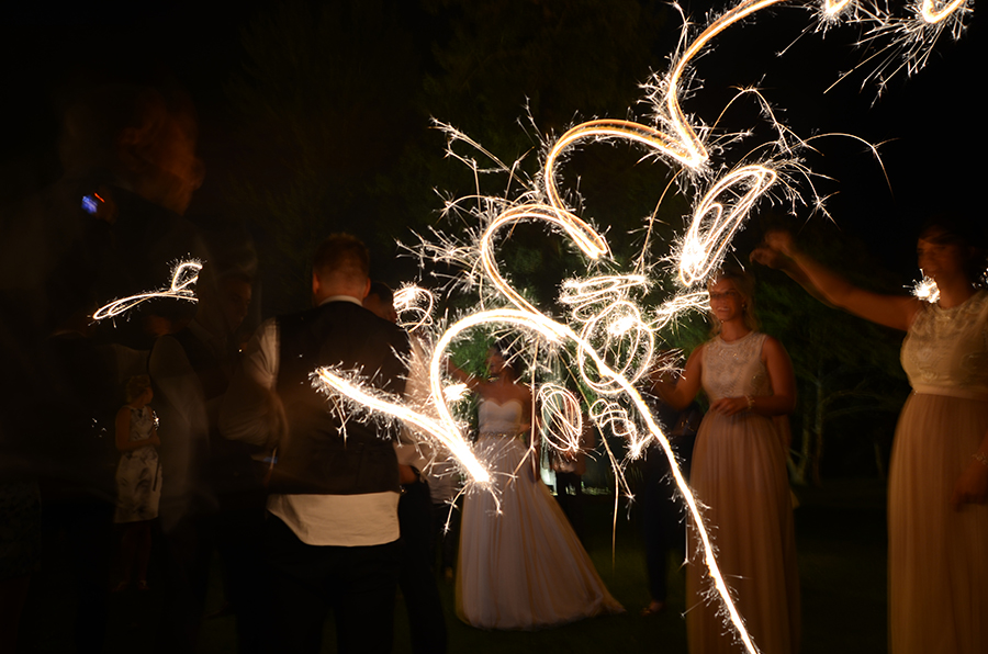 wedding, sparklers, lincolnshire, photography, photographer, flisher photography